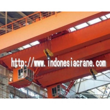 100 ton overhead crane with high duty class passed certification