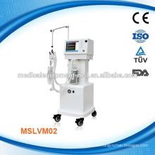 Tragbare Ventilator Maschine / tragbare Anästhesie Maschine / Ventilator Maschine Preis MSLVM02A