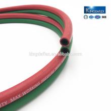Doppelte Farbe Blau und Rot, Grün und Rot Schweißschlauch Twin Line Schlauch