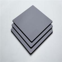 Качественная черная сплошная панель из поликарбоната 48''x96 ''