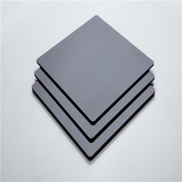 Hochwertiges schwarzes Polycarbonat-Massivblech 48 '' x 96 ''