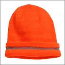 Защитная шапочка с отражающей полосой Beanie_Orange