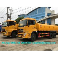 Heißer Verkauf Euro IV 18000 Liter Wassertank LKW / Dongfeng 6x4 Trinkwassertank LKW Verkauf in Brasilien
