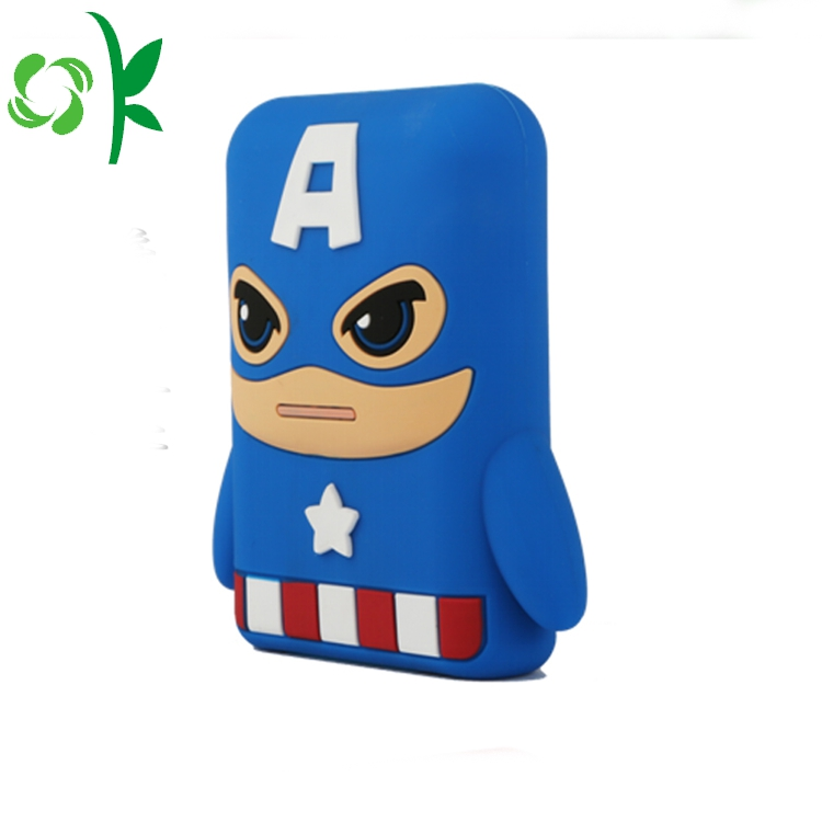 Captain America Mobile Power Cover