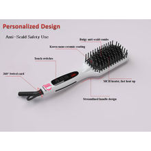 Neue Hot Tools Elektronische Richtmaschine Pinsel Haarkamm