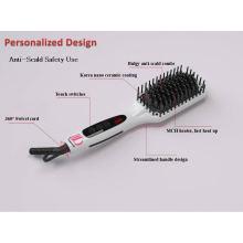 Новые горячие инструменты Электронная выпрямляющая расческа для волос