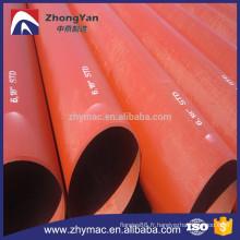 Haute qualité moins cher A53 Gr.B 6m 18'' STD en acier au carbone tube et tuyau, tubes soudés