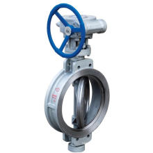 Wafer Type Butterfly Valve With Handle steel butterfly valve D373X-16C Yuanda Valve