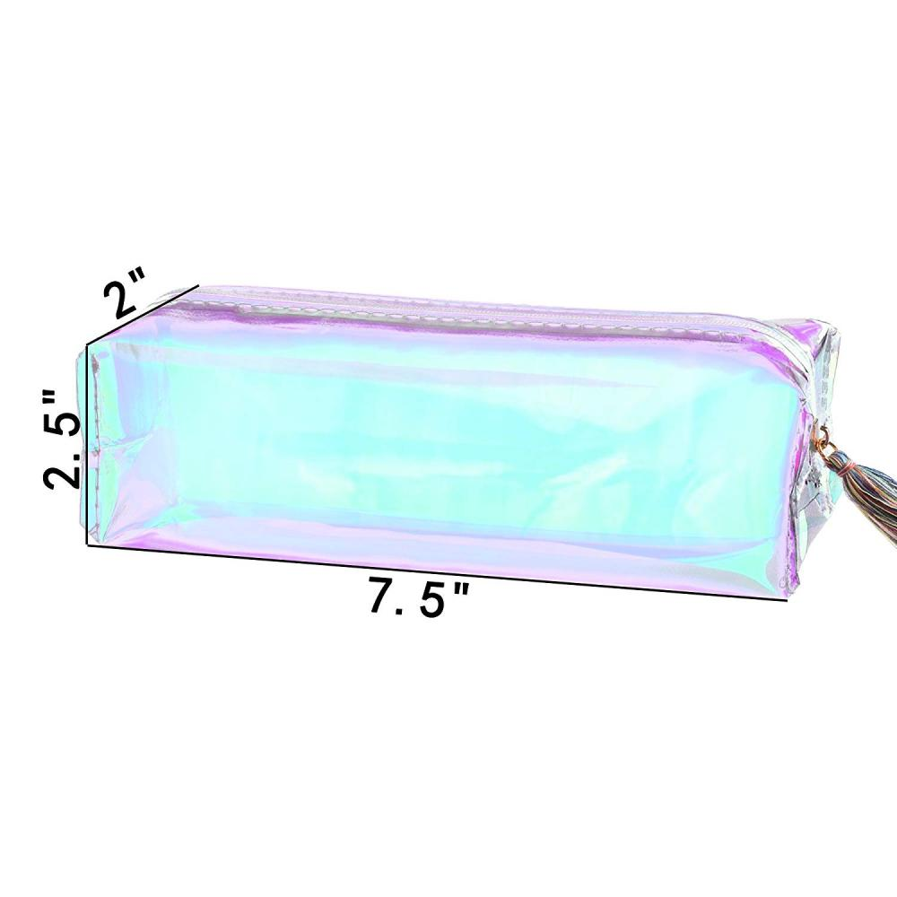 Laser Pencil Case With Tassel 2