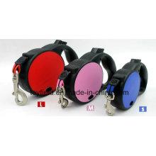Cuello de perro Collar de nylon Durable Retractable Pet Leash