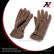 light and warm polar fleece gloves