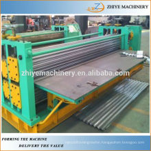 Roofing Barrel Corrugated Sheets Metal Cold Roll Forming Machine Botou