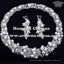 Fashion Wholesale Pearl Necklace Set