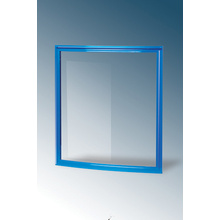 Freezer Curved Glass Door with Plastic Frame