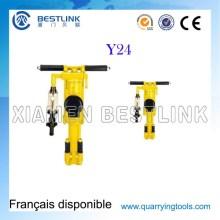Y20 Y24 portátil pneumática Vertical Rock máquina de perfuração