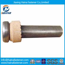 ISO 13918 Käsekopfschweißbolzen für Stahlbelag