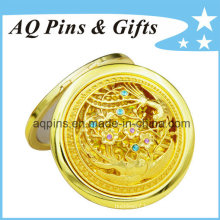 High Quality Cosmetic Mirror with Gold Plating