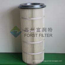 FORST Galvanized Polyester Removal Dust Cylinder Air Filter