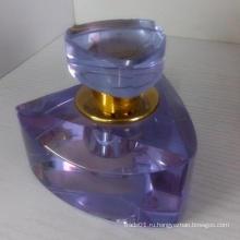 Хорошая стеклянная бутылка для духов с красивым брендом на промоушене и хрустальном облике