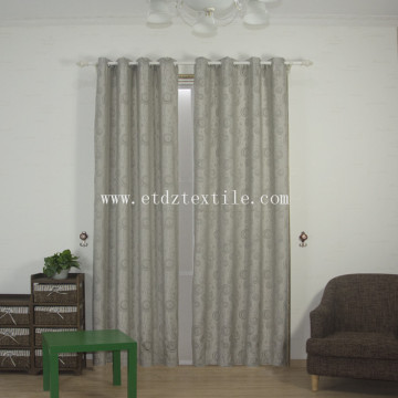2017 new ployester linen curtain