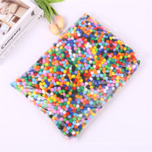 Factory direct sale 1cm-3cm colorful pompoms/ DIY Craft PomPoms for kids