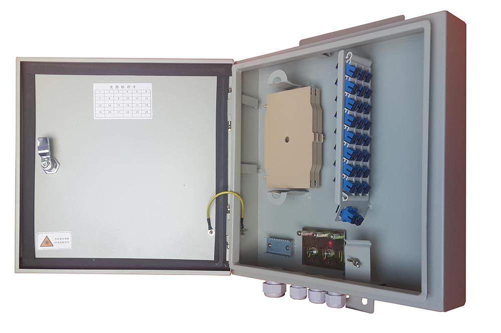 metal optic distribution box