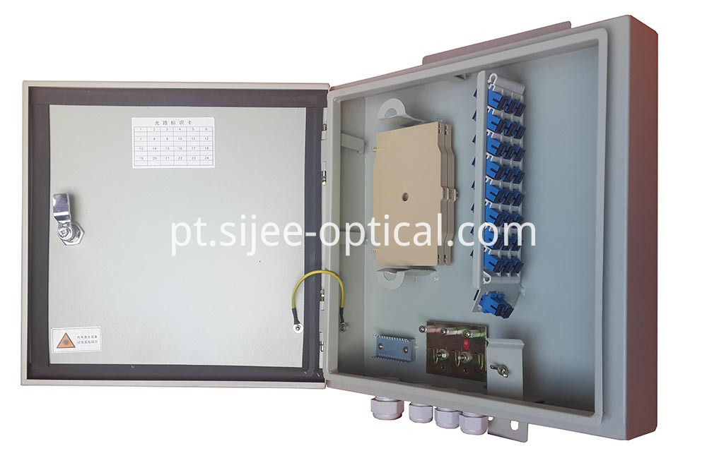 metal optic distribution box