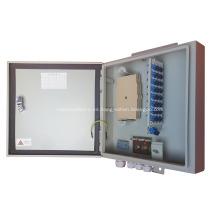 Caja de distribución de fibra óptica al aire libre