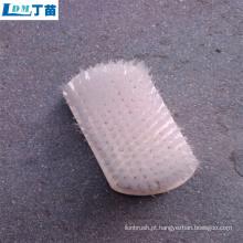 Escova plástica de nylon personalizável a preço de fábrica