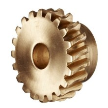 Custom Worm Brass Gear untuk Robot Arm Accessories