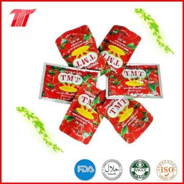 Saudável Orgânica 70g Saquinho de pasta de tomate de alta qualidade