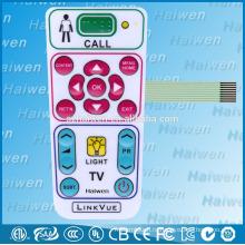 Пользовательские водонепроницаемый мембранный выключатель с гибким контуром для медицинского оборудования
