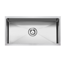 American Standard Hm-3018 Undermount Hand Made Single Bowl Stainless Steel Sink