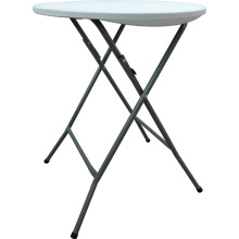 Hot Sales Plastic 60 Cm Samll Round Folding Table para piquenique