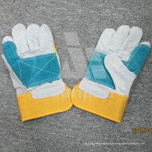 Цвет блокирование кожаный град а/АВ/Вс рабочие перчатки безопасности