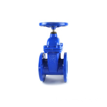 DIN3352 F4 Ductile iron PN16 GGG50 water sluice gate valve