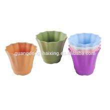 2015 novo vaso de flores para jardim decorar / vaso de flores de plástico