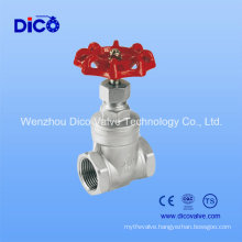 "3/4"" BSPT Thread Heavy Type Hand Wheel Gate Valve"