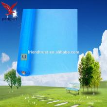Прозрачные прозрачные невидимые синие стеклянные оптоволоконные экраны высокого качества высокого качества с низким соотношением цены / качества и дешевые оптоволоконные экраны