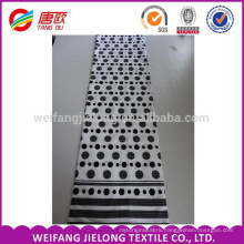 Black and white cheap printing 100 % cotton bedding fabric