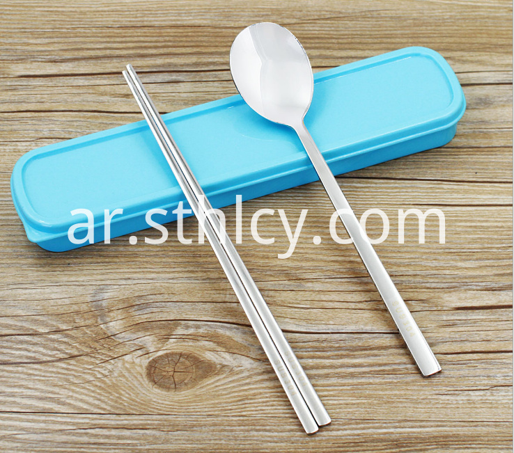 Stainless Steel Portable Tableware3