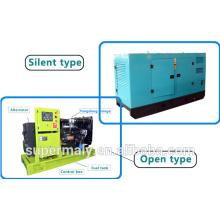 Wassergekühlte prime power 50KW shaichai diesel motor generator