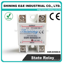 SSR-S05DD-H Fotek Type Solid State DC to DC 5V 120V DC Power Relay