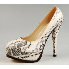 Nuevos zapatos de vestir de tacón alto para mujeres (HCY02-1049)