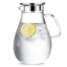 Resistência ao calor Vidro Água Jarro Bebida Suco Jarro de Café Recipiente Jantar Garrafa