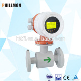 Low price electromagnetic flowmeter/ acid flow meter with computer in china