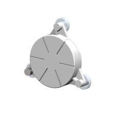 Torno CNC personalizado que da vuelta a las piezas del sensor de aluminio de la perforación