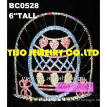 fashion crystal tiaras