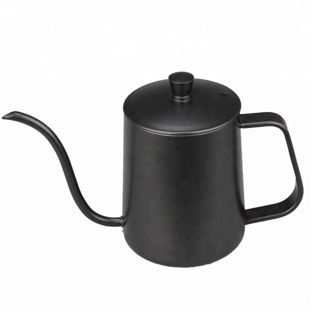 Stainless Steel Long Narrow Spout Coffee Pot 5
