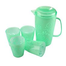 Hervidor de agua de plástico con tazas (LFR3599)